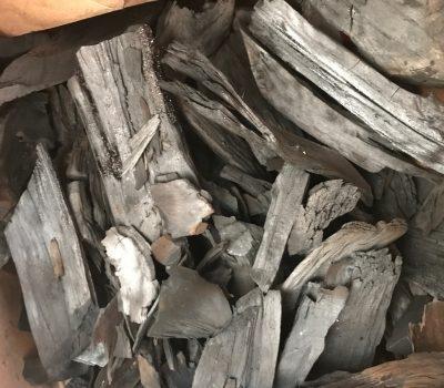 How to make pimento wood charcoal