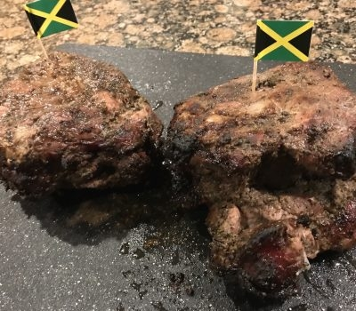 How to make authentic Jamaican jerk pork roast using pimento wood